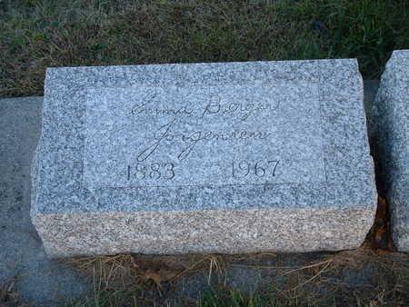 JORGENSEN, EMMA BERGER - Shelby County, Iowa | EMMA BERGER JORGENSEN