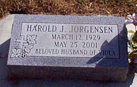 JORGENSEN, HAROLD J - Shelby County, Iowa | HAROLD J JORGENSEN