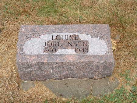 JORGENSEN, J LOUISE - Shelby County, Iowa | J LOUISE JORGENSEN