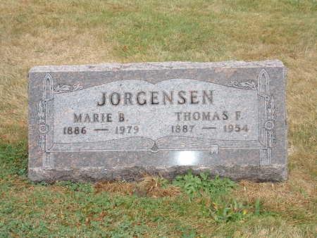 MADSEN JORGENSEN, MARIE B - Shelby County, Iowa | MARIE B MADSEN JORGENSEN