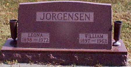 JORGENSEN, LEONA - Shelby County, Iowa   LEONA JORGENSEN