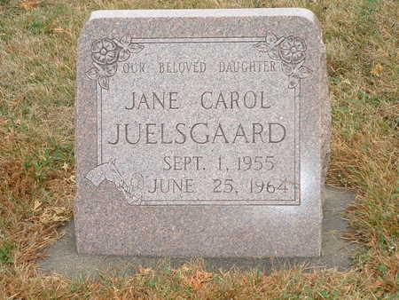 JUELSGAARD, JANE CAROL - Shelby County, Iowa   JANE CAROL JUELSGAARD