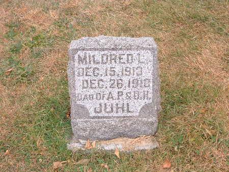 JUHL, MILDRED - Shelby County, Iowa   MILDRED JUHL