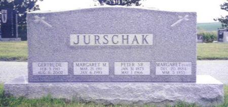 JURSCHAK, MARGARET M. - Shelby County, Iowa | MARGARET M. JURSCHAK