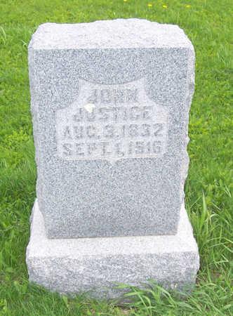 JUSTICE, JOHN - Shelby County, Iowa   JOHN JUSTICE