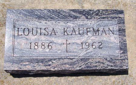 KAUFMAN, LOUISA - Shelby County, Iowa | LOUISA KAUFMAN