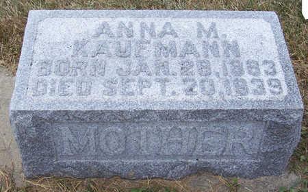 KAUFMANN, ANNA M. (MOTHER) - Shelby County, Iowa | ANNA M. (MOTHER) KAUFMANN