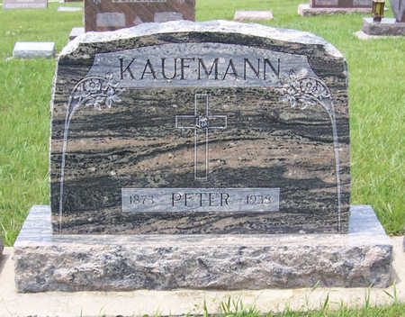 KAUFMANN, PETER - Shelby County, Iowa | PETER KAUFMANN
