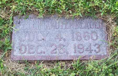 KAUTENBERGER, PETER - Shelby County, Iowa | PETER KAUTENBERGER