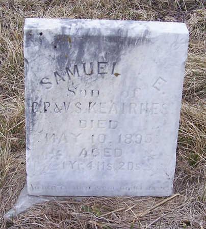 KEAIRNES, SAMUEL - Shelby County, Iowa | SAMUEL KEAIRNES