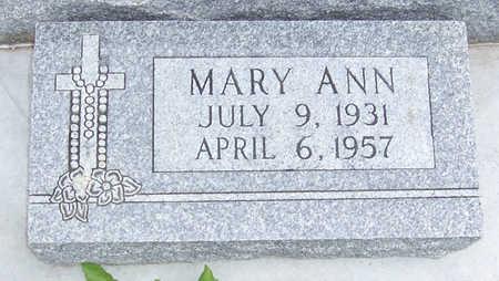 HOFFMANN KEANE, MARY ANN - Shelby County, Iowa | MARY ANN HOFFMANN KEANE