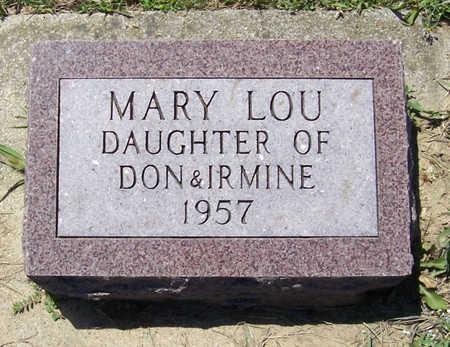 KEANE, MARY LOU - Shelby County, Iowa   MARY LOU KEANE