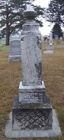 KEGEL, KARL (FRONT) - Shelby County, Iowa | KARL (FRONT) KEGEL