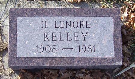 KELLEY, H. LENORE - Shelby County, Iowa | H. LENORE KELLEY