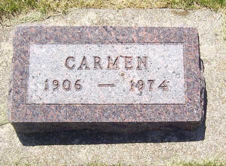 KENKEL, CARMEN - Shelby County, Iowa   CARMEN KENKEL