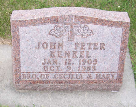 KENKEL, JOHN PETER - Shelby County, Iowa | JOHN PETER KENKEL