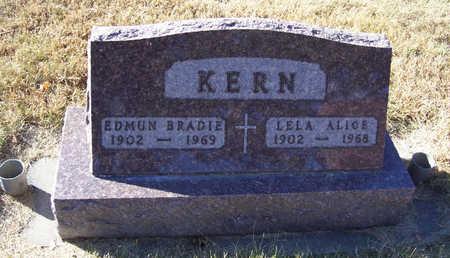KERN, LELA ALICE - Shelby County, Iowa   LELA ALICE KERN