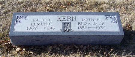 KERN, ELIZA JANE (MOTHER) - Shelby County, Iowa | ELIZA JANE (MOTHER) KERN