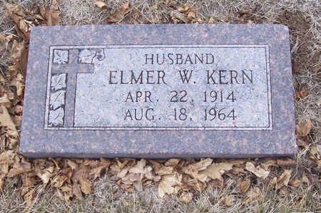 KERN, ELMER W. - Shelby County, Iowa   ELMER W. KERN