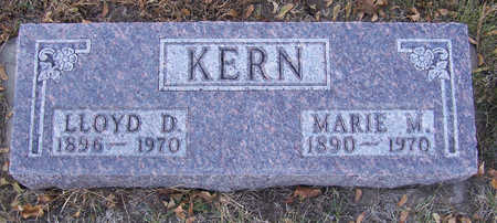 KERN, LLOYD D. - Shelby County, Iowa   LLOYD D. KERN