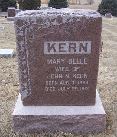 KERN, MARY BELLE - Shelby County, Iowa | MARY BELLE KERN