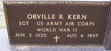 KERN, ORVILLE R. (MILITARY) - Shelby County, Iowa | ORVILLE R. (MILITARY) KERN