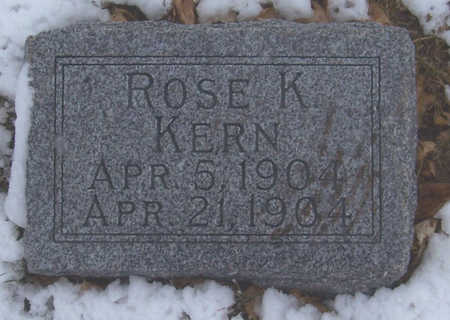 KERN, ROSE K. - Shelby County, Iowa | ROSE K. KERN