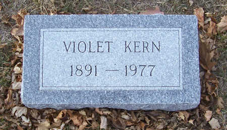 KERN, VIOLET - Shelby County, Iowa | VIOLET KERN