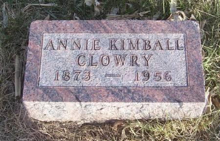 CLOWRY, ANNIE - Shelby County, Iowa | ANNIE CLOWRY