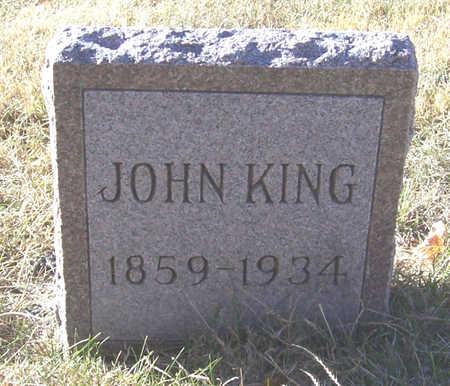 KING, JOHN - Shelby County, Iowa | JOHN KING
