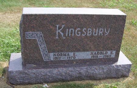 KINGSBURY, HAROLD E. - Shelby County, Iowa | HAROLD E. KINGSBURY