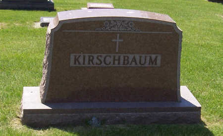 KIRSCHBAUM, (LOT) - Shelby County, Iowa | (LOT) KIRSCHBAUM