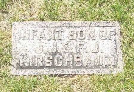 KIRSCHBAUM, INFANT SON - Shelby County, Iowa   INFANT SON KIRSCHBAUM