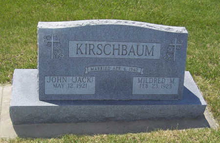 KIRSCHBAUM, JOHN (JACK) - Shelby County, Iowa | JOHN (JACK) KIRSCHBAUM