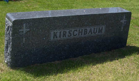 KIRSCHBAUM, WILLIAM & LOA (LOT) - Shelby County, Iowa | WILLIAM & LOA (LOT) KIRSCHBAUM