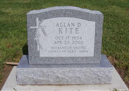 KITE, ALLAN D. - Shelby County, Iowa   ALLAN D. KITE