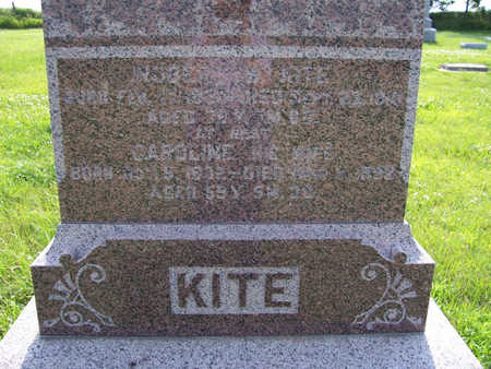 KITE, ROBERT W. (UP CLOSE) - Shelby County, Iowa | ROBERT W. (UP CLOSE) KITE