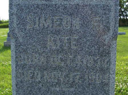 KITE, SIMEON F. (UP CLOSE) - Shelby County, Iowa | SIMEON F. (UP CLOSE) KITE