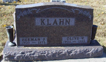 KLAHN, OLIVE V. - Shelby County, Iowa | OLIVE V. KLAHN
