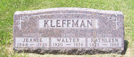 KLEFFMAN, KATHLEEN (MOTHER) - Shelby County, Iowa | KATHLEEN (MOTHER) KLEFFMAN