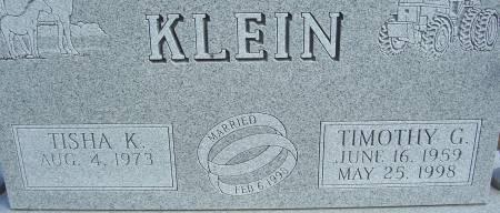KLEIN, TISHA K. (CLOSE-UP) - Shelby County, Iowa   TISHA K. (CLOSE-UP) KLEIN
