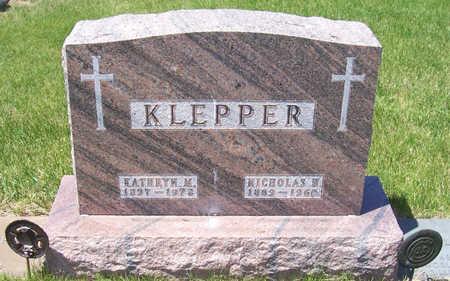 KLEPPER, KATHRYN M. - Shelby County, Iowa   KATHRYN M. KLEPPER