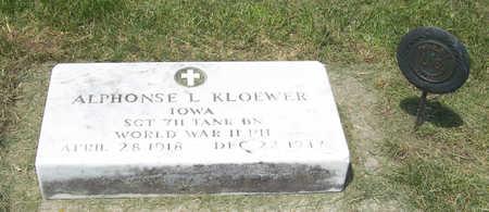 KLOEWER, ALPHONSE L. - Shelby County, Iowa   ALPHONSE L. KLOEWER