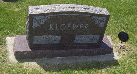 KLOEWER, FRANK A. - Shelby County, Iowa   FRANK A. KLOEWER