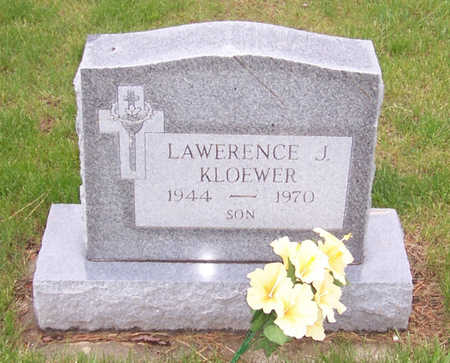 KLOEWER, LAWRENCE J. - Shelby County, Iowa | LAWRENCE J. KLOEWER
