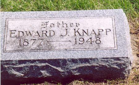 KNAPP, EDWARD J. - Shelby County, Iowa | EDWARD J. KNAPP