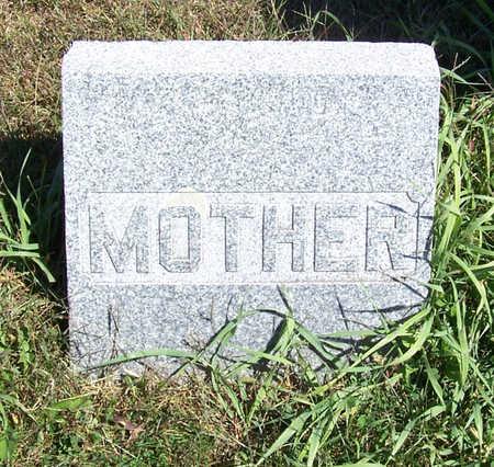 KNAUSS, ELIZABETH (MOTHER) - Shelby County, Iowa   ELIZABETH (MOTHER) KNAUSS