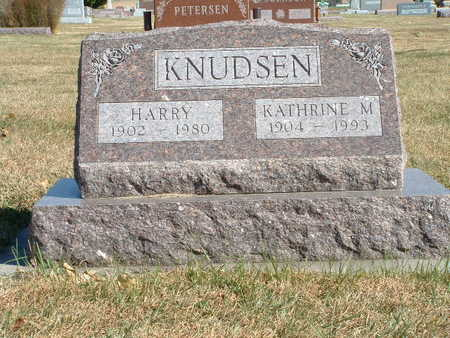 KNUDSEN, HARRY - Shelby County, Iowa   HARRY KNUDSEN