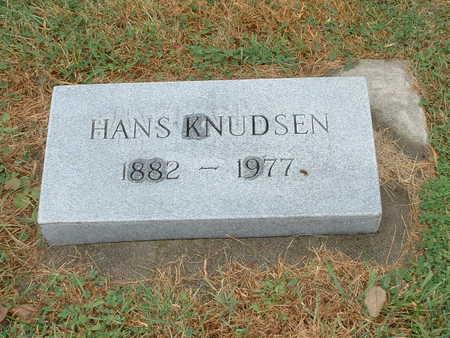 KNUDSEN, HANS - Shelby County, Iowa | HANS KNUDSEN