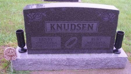 KNUDSEN, RUBY - Shelby County, Iowa | RUBY KNUDSEN